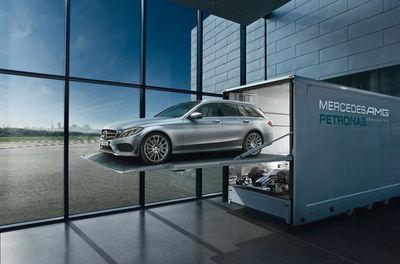 RECOM CGI : Mercedes - EfficiencyLAB - C-Class