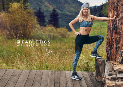 HUNTER & GATTI : FABLETICS with KATE HUDSON