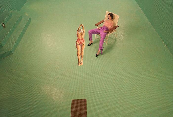 Tonic Reps presents Pixie Levison - The Pool - For Italian Glamour Magazine June 19