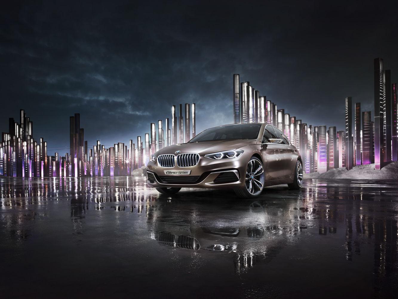 ANKE LUCKMANN for BMW CONCEPT COMPACT SEDAN