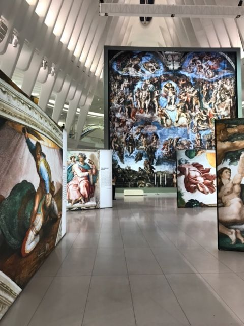 Michelangelo's Sistine Chapel Frescoes replicas, produced by GIGANT PRINT WORKS