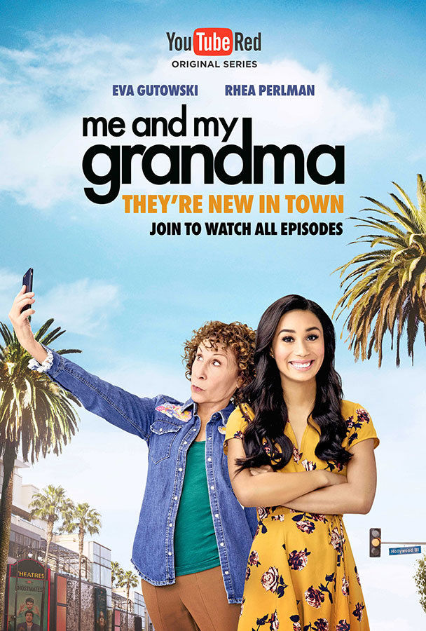 """Emily Shur photographed the stars of Youtube Red's Original Series """"Me and My Grandma"""""""