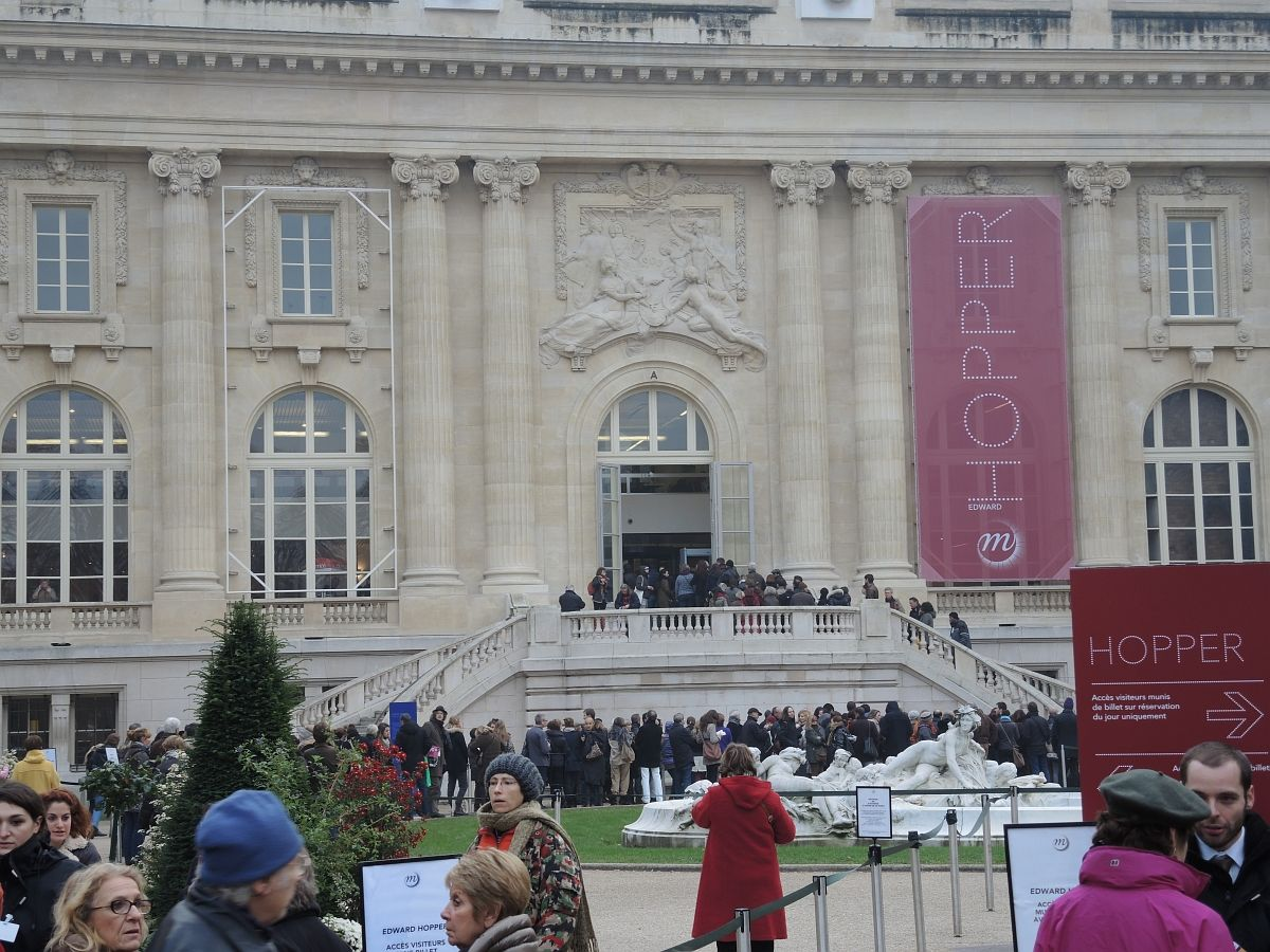 Grand Palais, Paris : Edward Hopper Exhibition (until 28. Januar 2013)