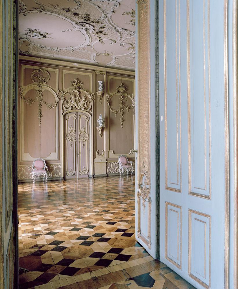 FRIEDERISIKO - das Neue Palais von Sansscouci  (fleischfarbenes Zimmer)