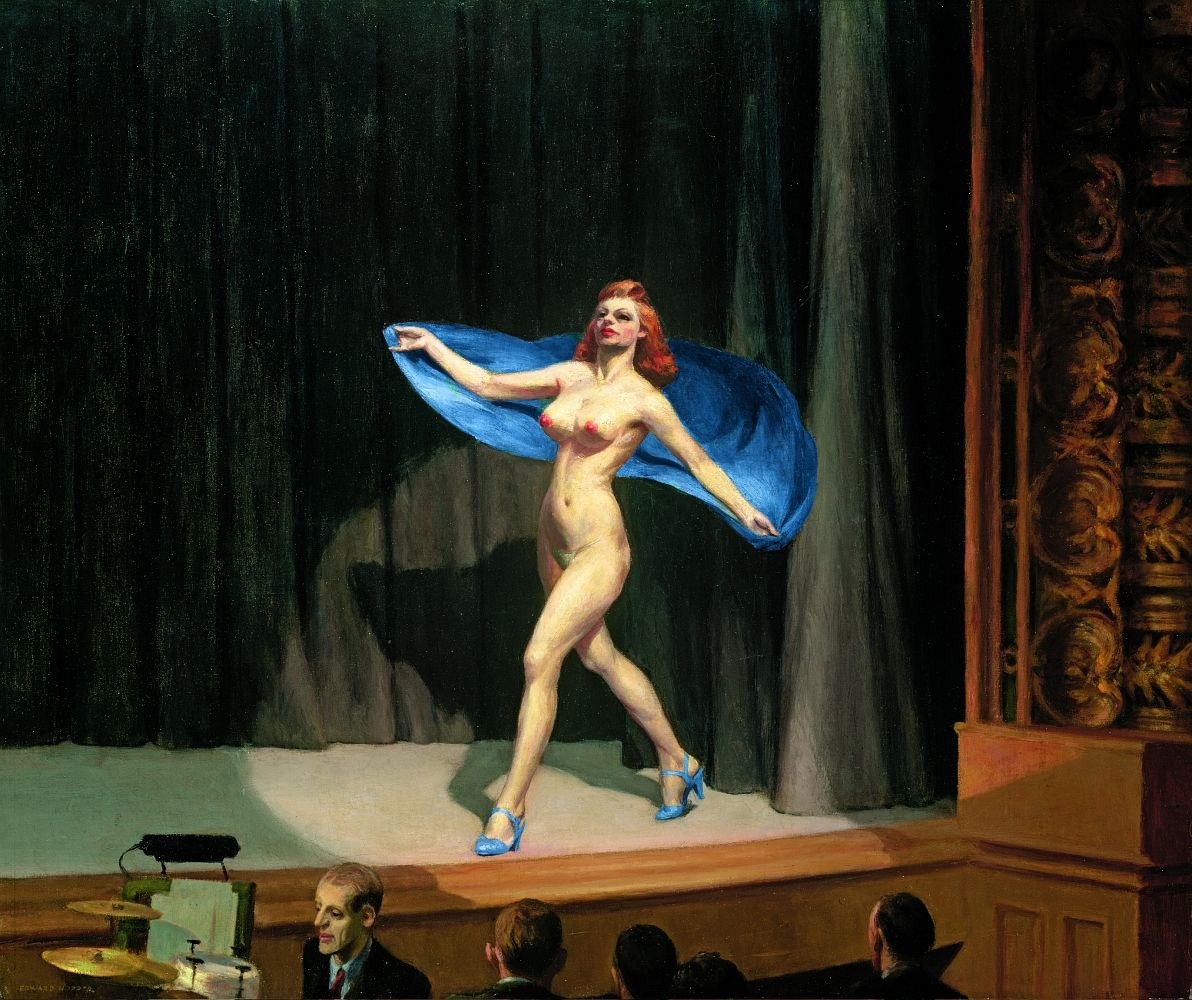 Edward Hopper, Girlie show, 1941