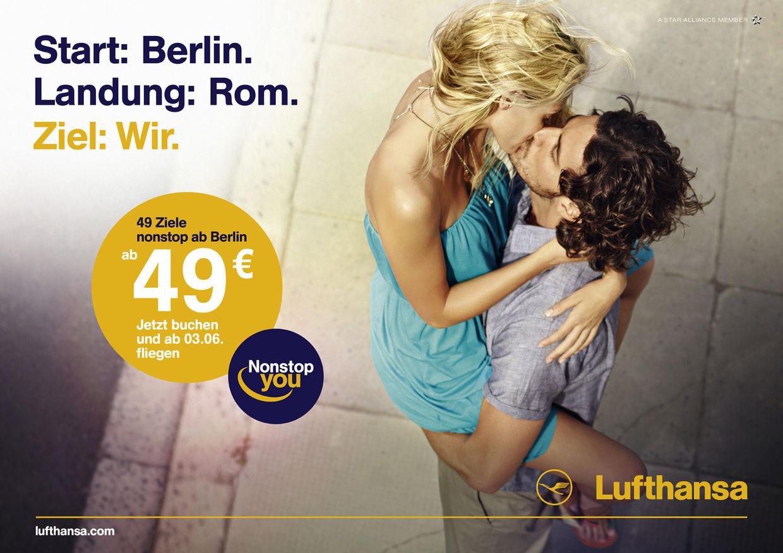GOSEE ADVERTISING : Kolle Rebbe for Lufthansa