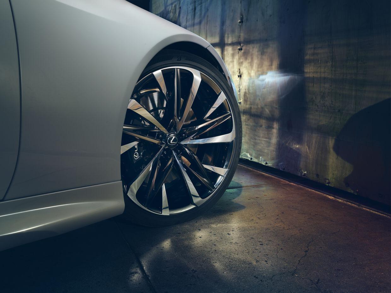ANKE LUCKMANN shoots Lexus LC  Concept Convertible
