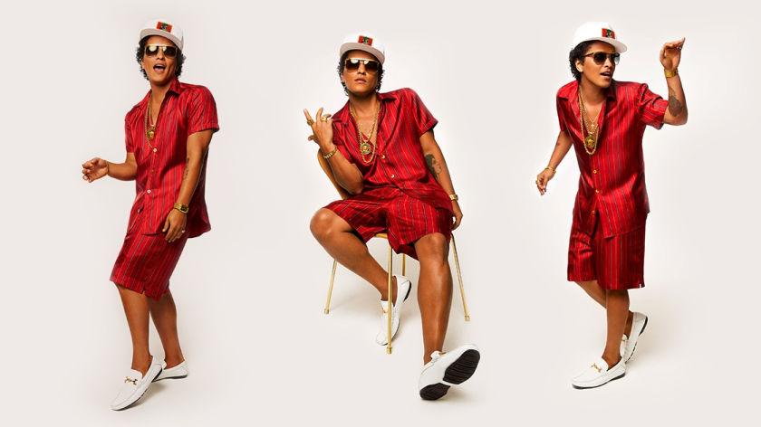 Bruno Mars Album Cover 24k Magic