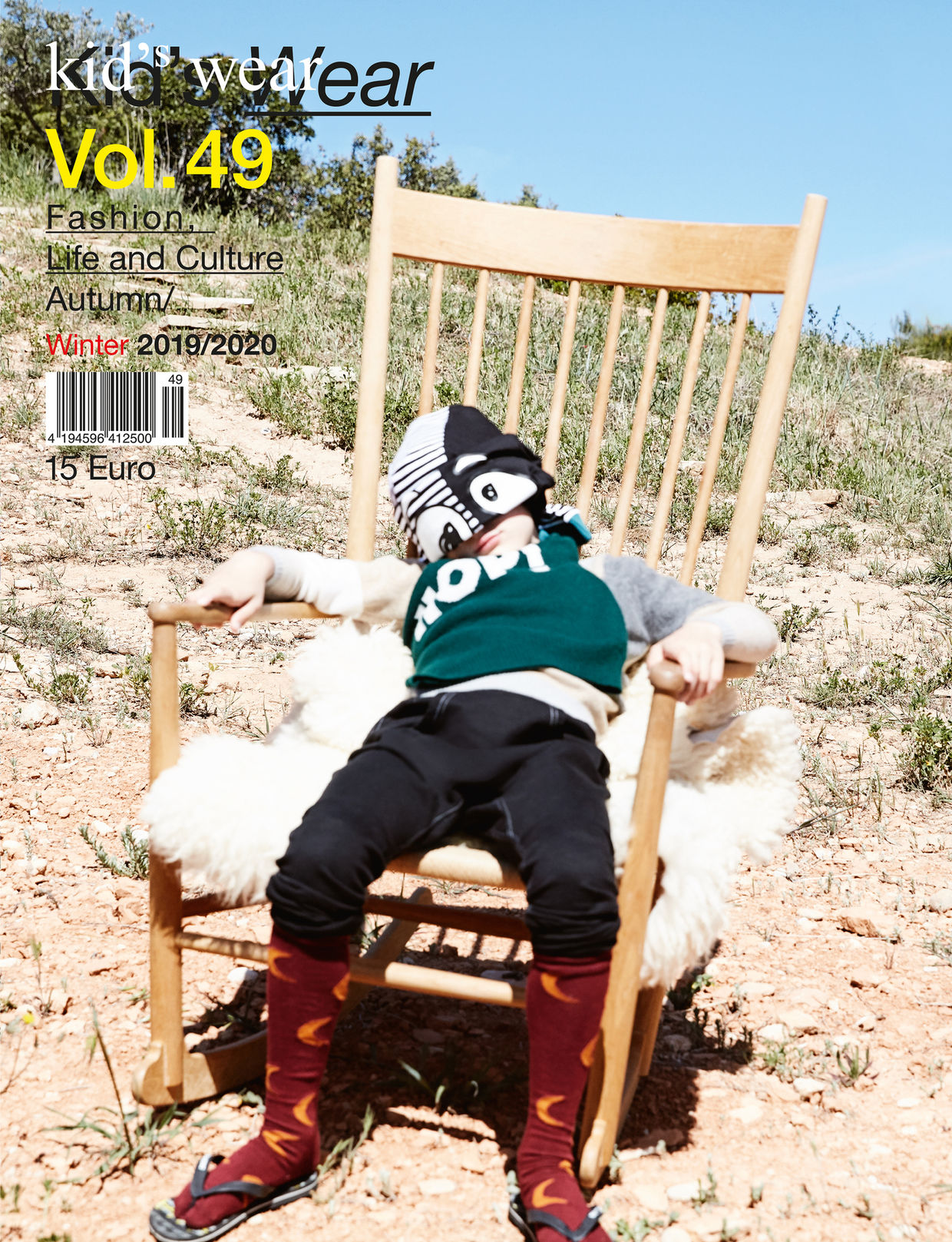 Kid's Wear Magazine Vol. 49 Cover by Achim Lippoth