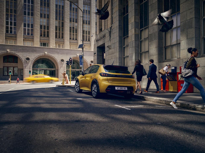 """SEVERIN WENDELER: TRANSPORTATION SPECIAL """"Peugeot 208"""" Photo by HE&ME c/o Severin Wendeler"""