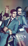 VIVA MODELS : Aaron VERNON for LANVIN