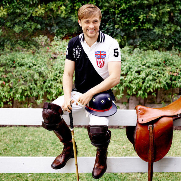 GLAMPR: William Moseley for E! The Royals