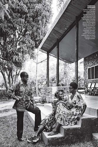 BAKER KENT for US Vogue – Mario Testino – Kenya