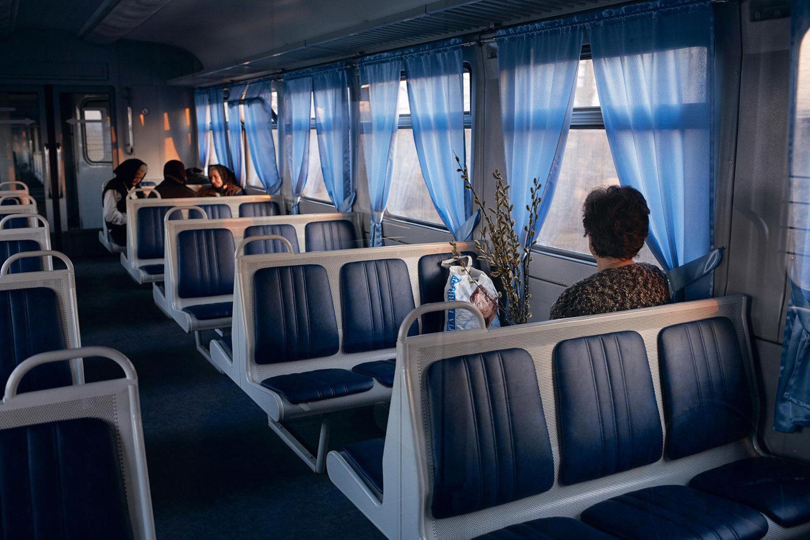 "Kolomyya 2013 from ""Kosmos Train"" by JANINE GRAUBAUM on Photo Rag Fine Art Print"