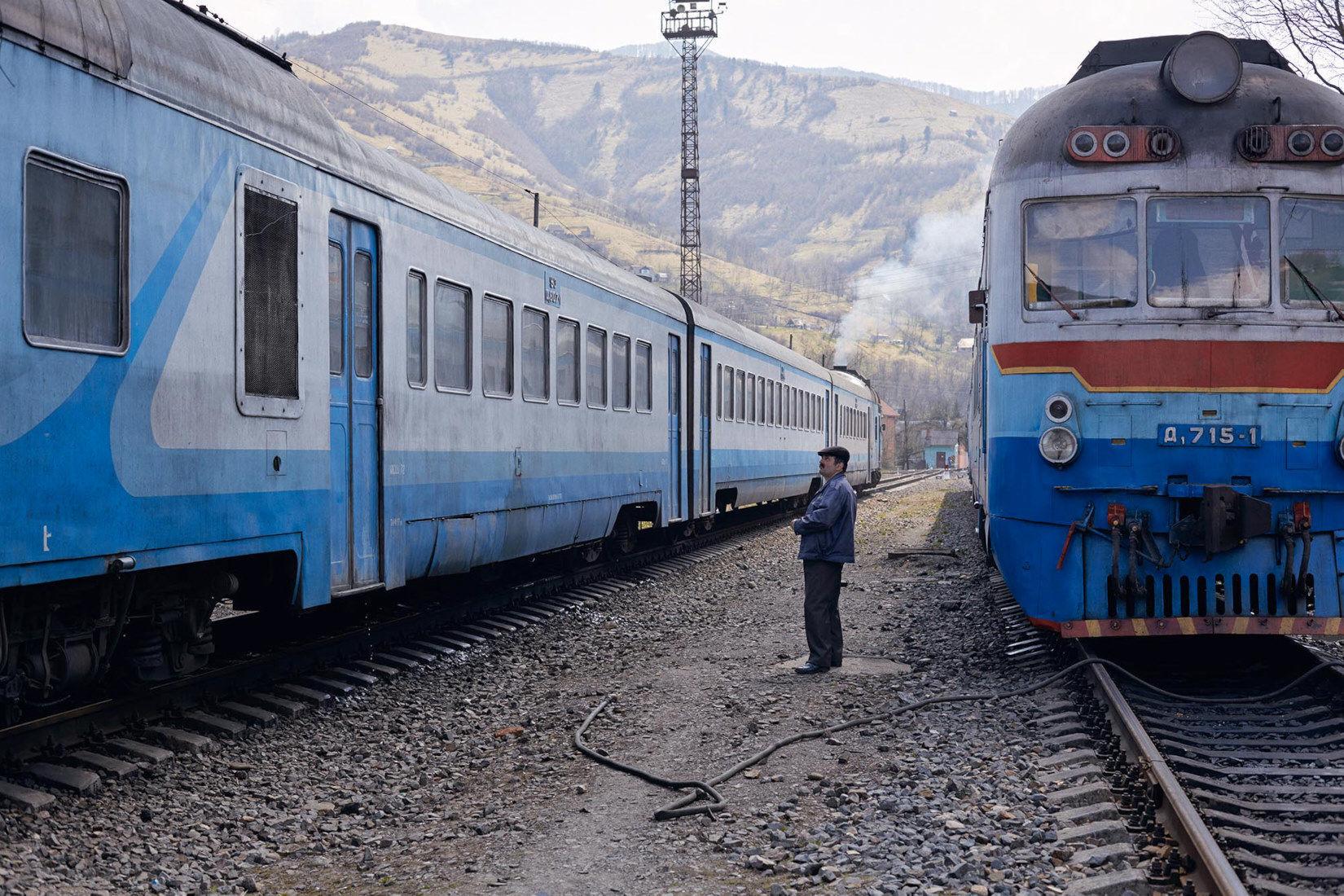 "Rhakiv 2013 from ""Kosmos Train"" by JANINE GRAUBAUM on Photo Rag Fine Art Print"