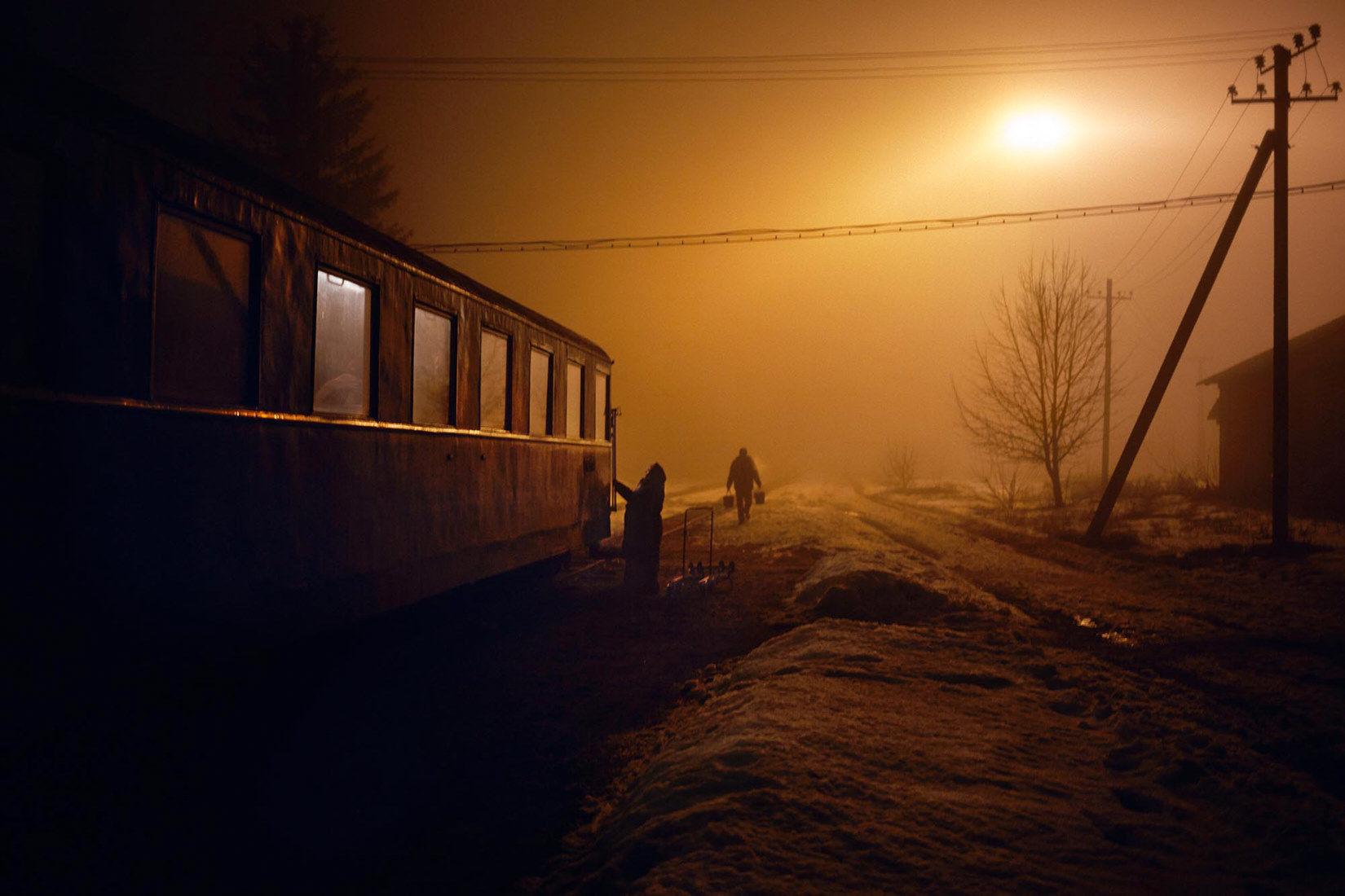 "Rudnytza 2015 from ""Kosmos Train"" by JANINE GRAUBAUM on Photo Rag Fine Art Print"