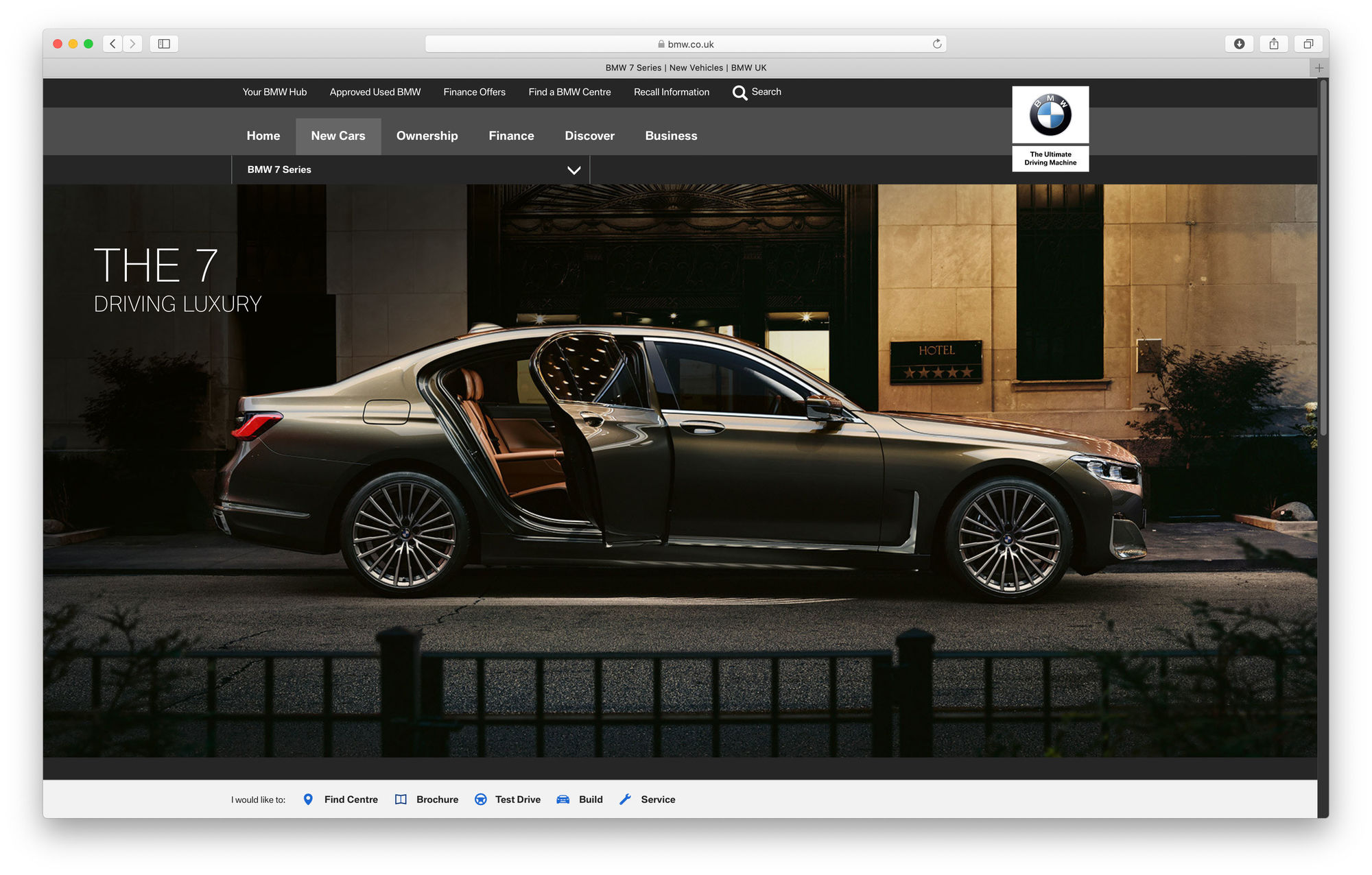 "RECOM CGI : BMW 7 series ""THE 7"" - Location - Campaign"