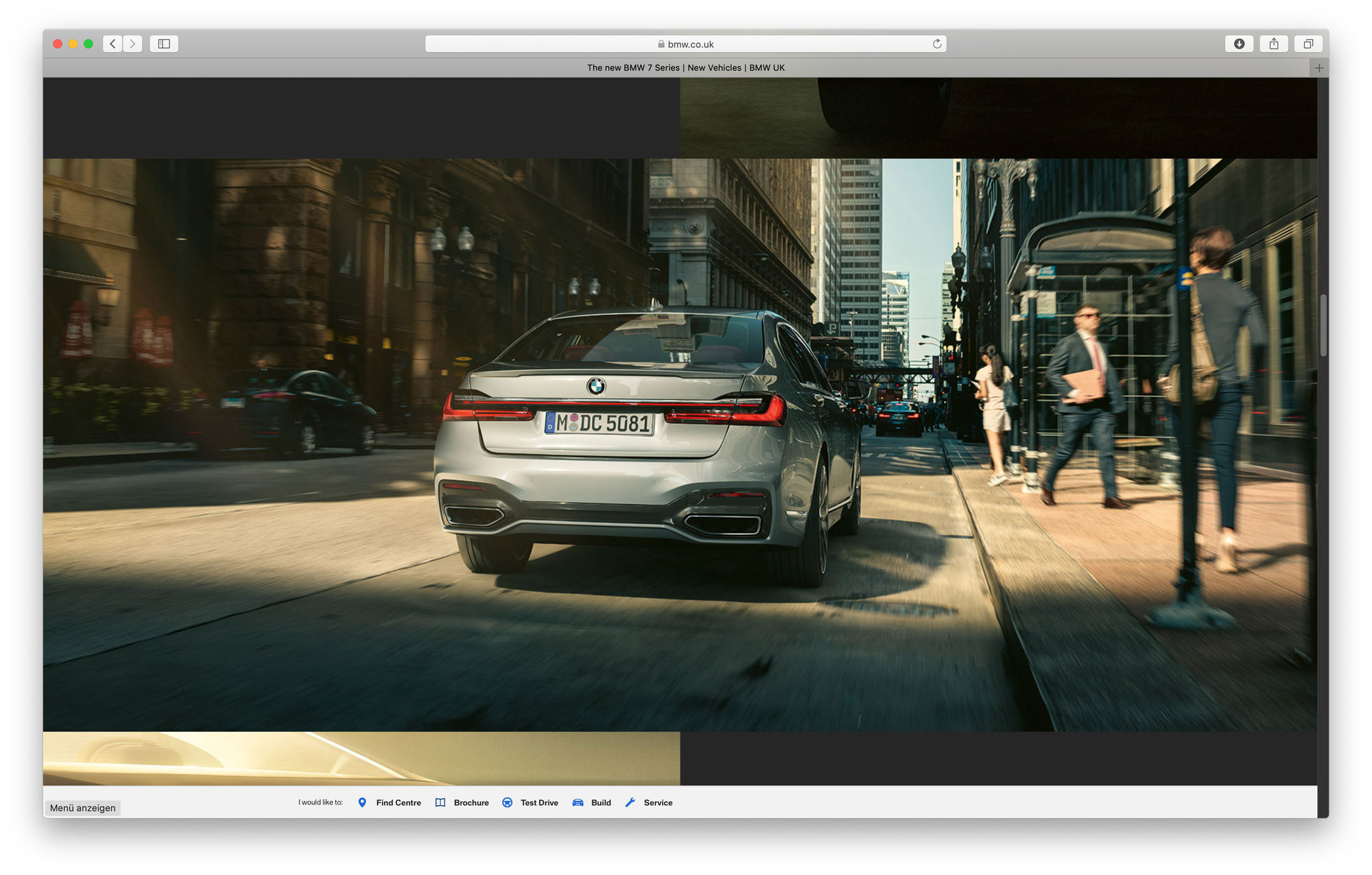 "RECOM CGI : BMW 7 series ""THE 7"" - Location - Campaign"