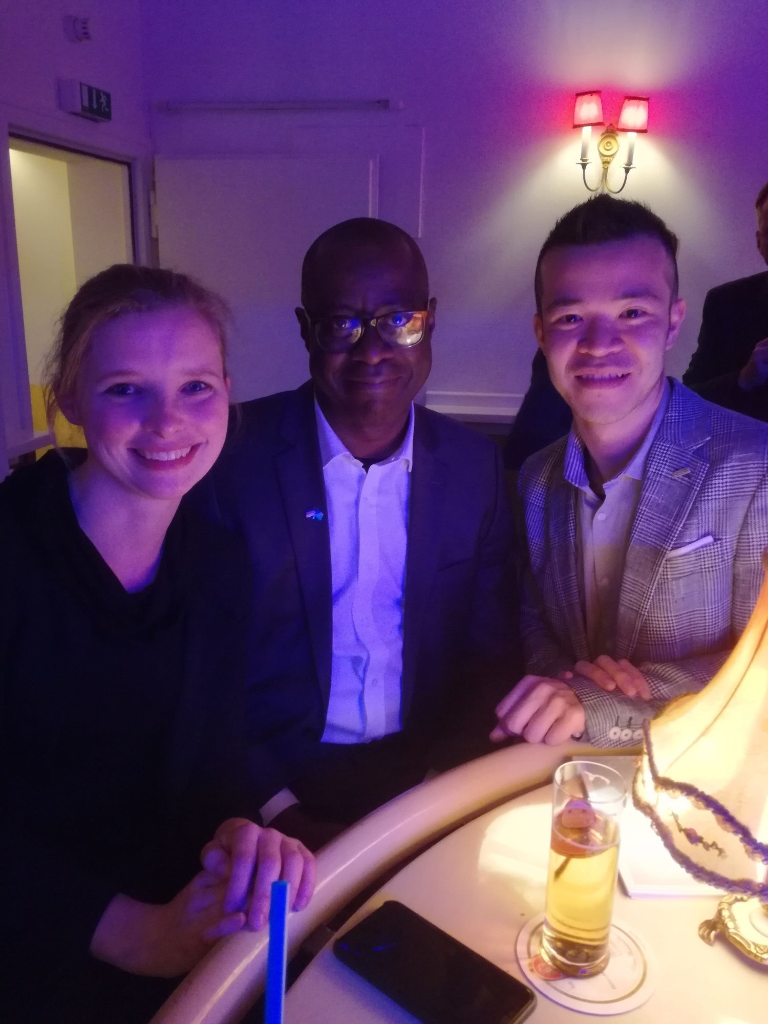 Pro Namibian Children Charity - After Drink at MAISON MARSIL