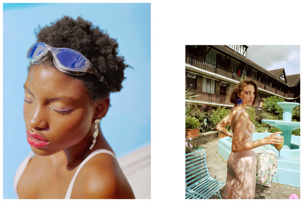 Nina Raasch shoots for Vogue Italia // COLLECTIVEINTEREST ARTIST MANAGEMENT