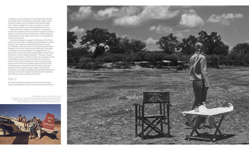 BAKER KENT for Porter Magazine – Vincent Van De Wijngaard – Kenya