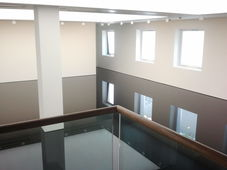 Saatchi Gallery, London (Artwork : Richard Wilson)
