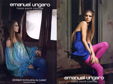 MUNICH MODELS : JENNIFER Messelier for EMANUEL UNGARO