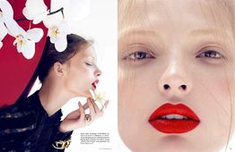 LUNDLUND : Camilla AKRANS for VOGUE GERMANY