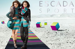 VISUALEYES : Iris BROSCH for ESCADA SPORT