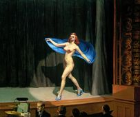 Edward Hopper, Girlie show, 1941