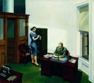 Edward Hopper, Office at night, 1940