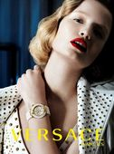 MUNICH MODELS : Maud WELZEN for VERSACE WATCH