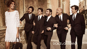 HAPPY FINISH : Chris ROOME for DOLCE & GABBANA