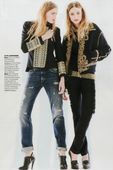 EAST WEST MODELS : Aida A. & Leva A. for GRAZIA