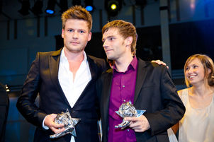 Winner Dinner 2011 : Marcell Franke, Patrick Matthiensen, (Kempertrautmann)