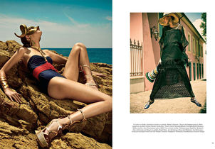 STEFANI NENNECKE : Thanassis KRIKIS for VOGUE HELLAS