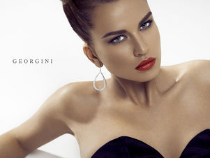 EAST WEST MODELS : Manuela B. for GEORGINI