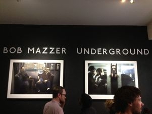 GoSee at Bob Mazzer's Underground private view, Howard Griffin Gallery, London