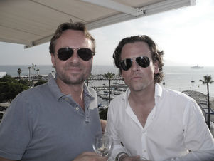 CANNES 2011 : MARKENFILM - sundowner with Florian Beisert and Johannes Bittel / Markenfilm