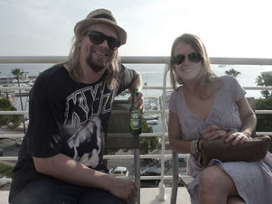 CANNES 2011 : MARKENFILM - sundowner with director Pekka Hara
