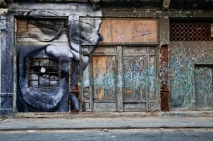 The Wrinkles of the City - La Havana, by JR