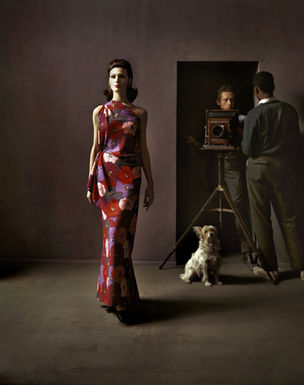 PHOTOGRAPHERS GALLERY : FASHION IN THE MIRROR, Melvin Sokolsky