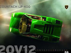Lamborghini Kalender 20V12