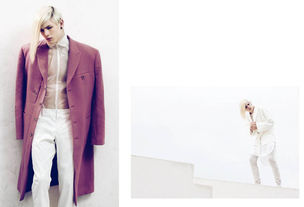 VIVA MODELS : LUKE Worrall for METAL MAGAZINE
