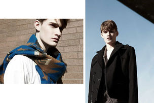 BIGOUDI : Andreas SCHÖNAGEL for THE FASHIONISTO