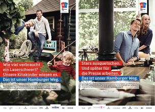 BIGOUDI : Isabel PETERS &  Ariane LINDHORST for HAMBURGER WEG
