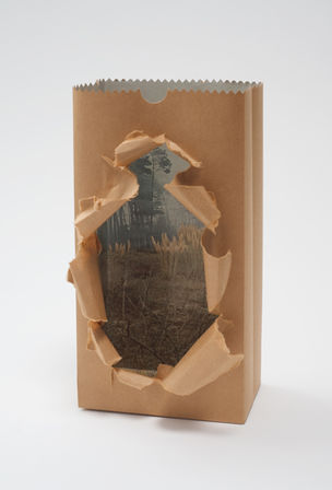 CHERRY AND MARTIN : Jerry McMillan, Torn Bag, 1968 (Photography into Sculpture)