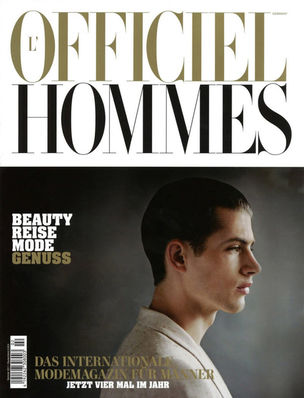 SHOTVIEW : Ronald DICK for L'OFFICIEL HOMMES