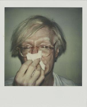 Andy Warhol, Andy Sneezing, 1978 (WestLicht, Wien)