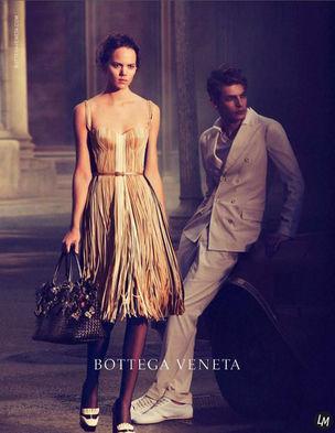 LOUISA MODELS : Freja for BOTTEGA VENETA